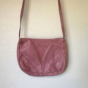 Pink Leather Libaire Purse